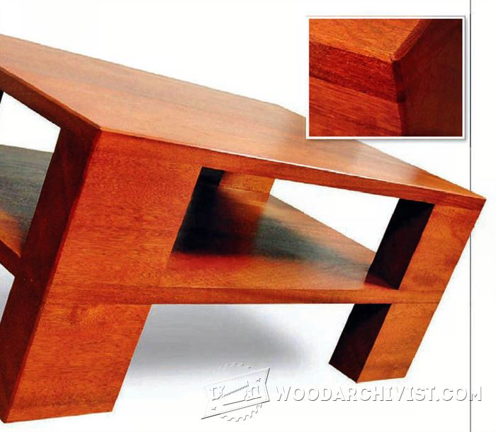 Chunky Coffee Table Plans Woodarchivist