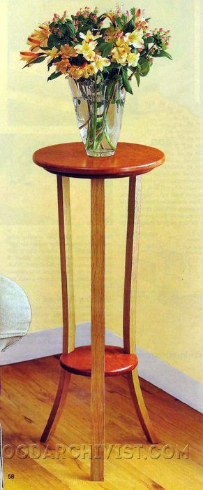 758-Simply Graceful Plant Stand Plans