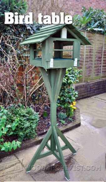 761-Bird Table Plans