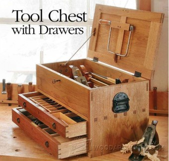 762-Tool Chest  Plans