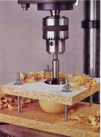 764-Ball Drilling Jig