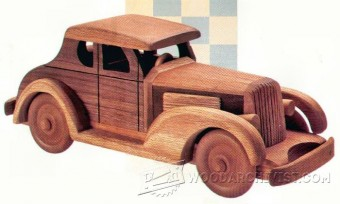 767-Wooden Deuce Coupe Plan