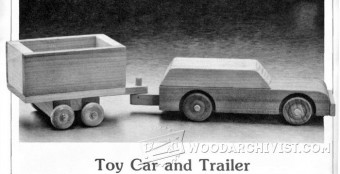 783-Wooden Car and Trailer Plans