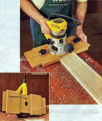 785-DIY Fluting Jig