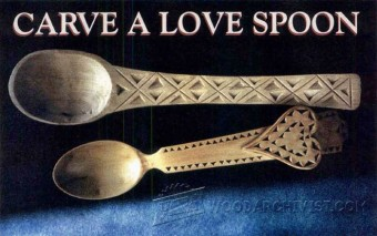 787-Carving Spoon - Wood Carving Patterns