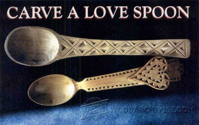 Carving spoon wood patterns woodarchivist