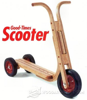 792-Wooden Scooter Plans