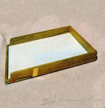 794-Making Wooden Letter Tray