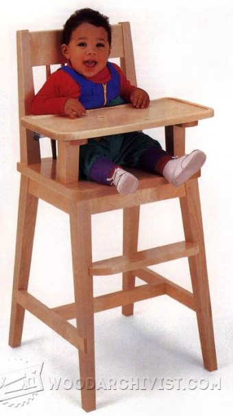 800-High Chair Plans