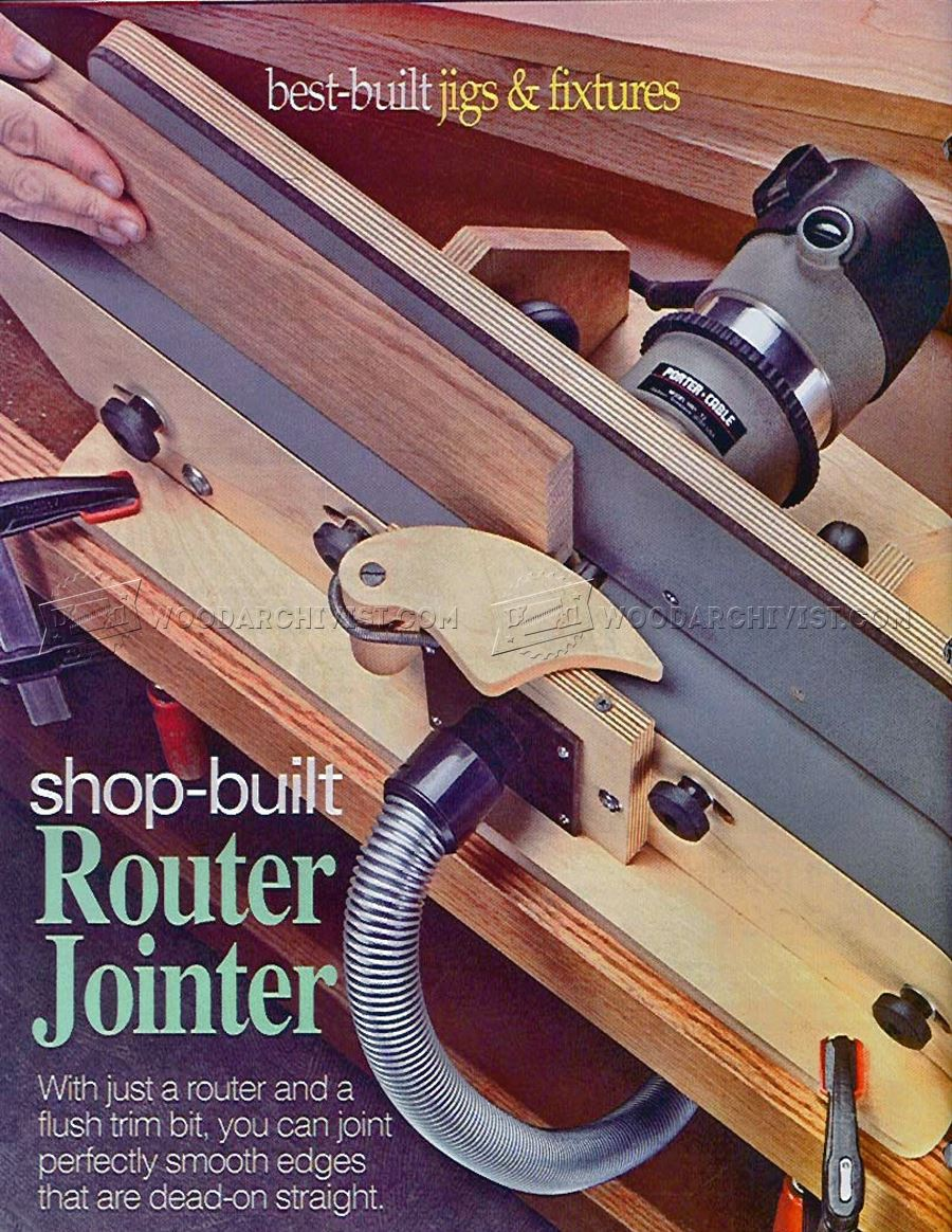 #806 Shopmade Router Jointer