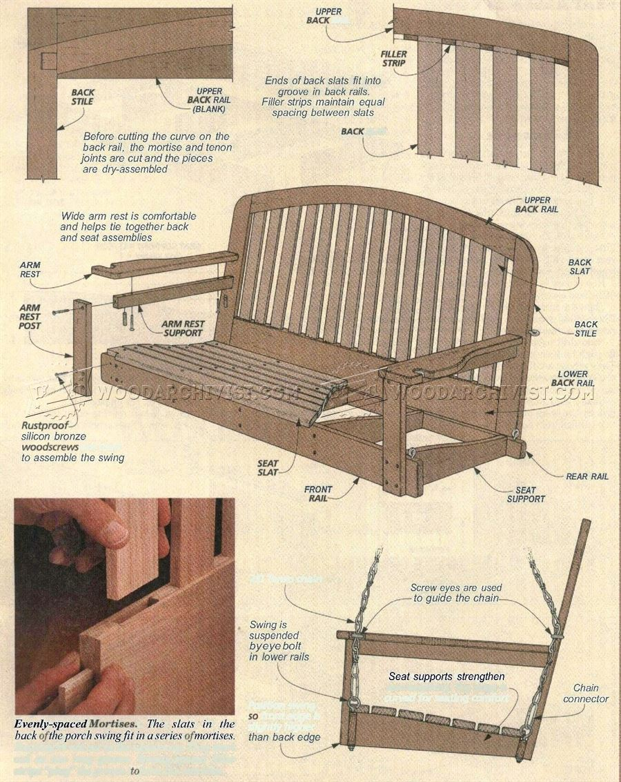 diy garden furniture plans free