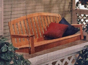 810-Porch Swing Plans