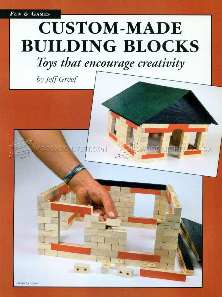 Making Wooden Building Blocks