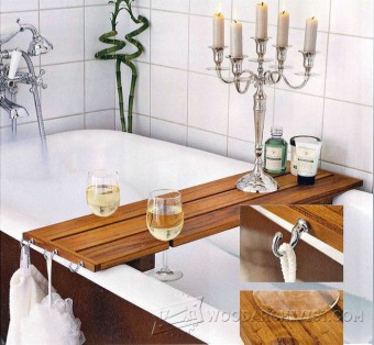 824-Bathtub Caddy      Plans