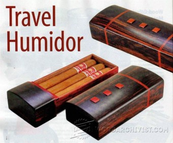 827-Travel Humidor Plans