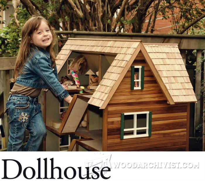 Doll House Plans • WoodArchivist
