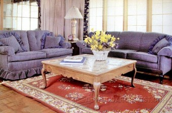 834-Country Coffee Table Plans