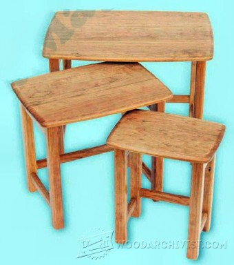837-Nest of Tables Plans