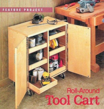 839-Roll-Around Tool Cart Plans