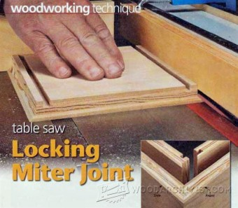 848-Table Saw Lock Miter Joint