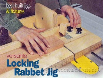 850-Locking Rabbet  Joint Jig