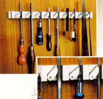 Diy Hand Tool Holder Woodarchivist