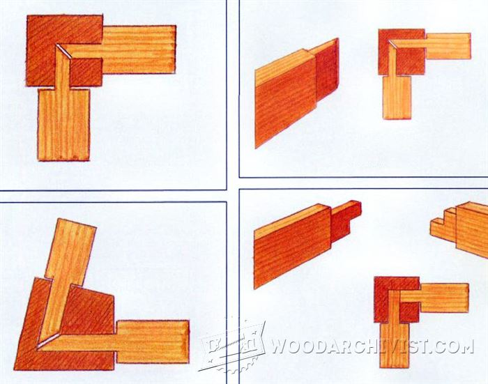 Mortise And Tenon Joint ~ Mortise and tenon joint woodarchivist
