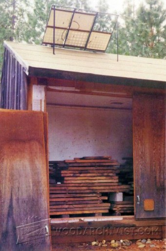 Diy Wood Drying Kiln Woodarchivist