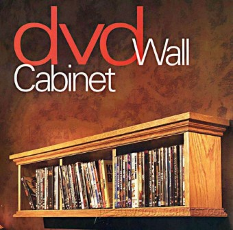 882-DVD Wall Cabinet Plans