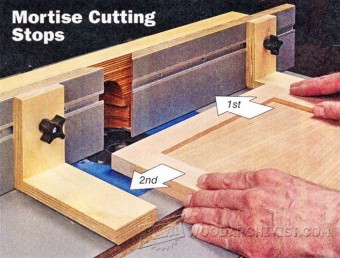 890-Cutting Hinge Mortises on Router Table