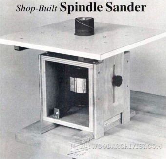 891-DIY Spindle Sander