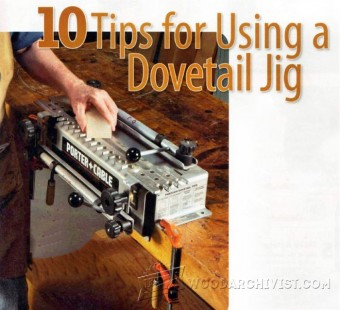 892-10 Tips for Using a Dovetal Jig
