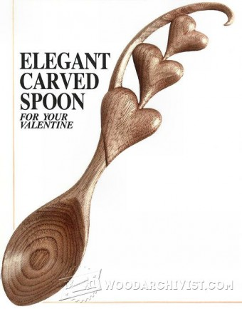 895-Carving Spoon - Wood Carving Patterns