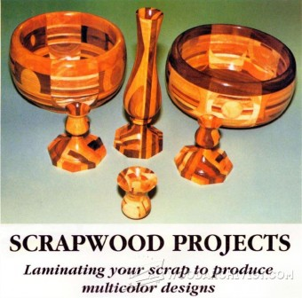 899-Woodturning Scrap Wood Projects