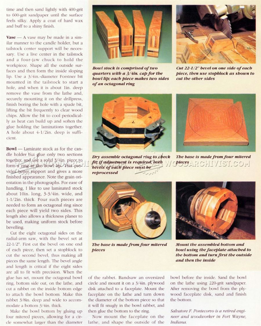 Woodturning Scrap Wood Projects