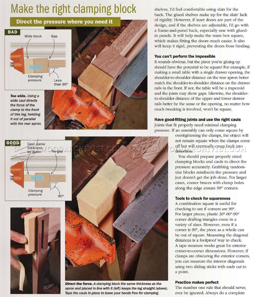 Tips for Square Glue-Ups