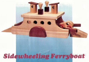 901-Wooden Ferry Boat Plan