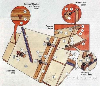 904-Table Saw Angle Jig Plans