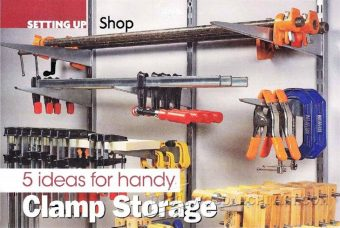 907-5 Ideas for Handy Clamp Storage