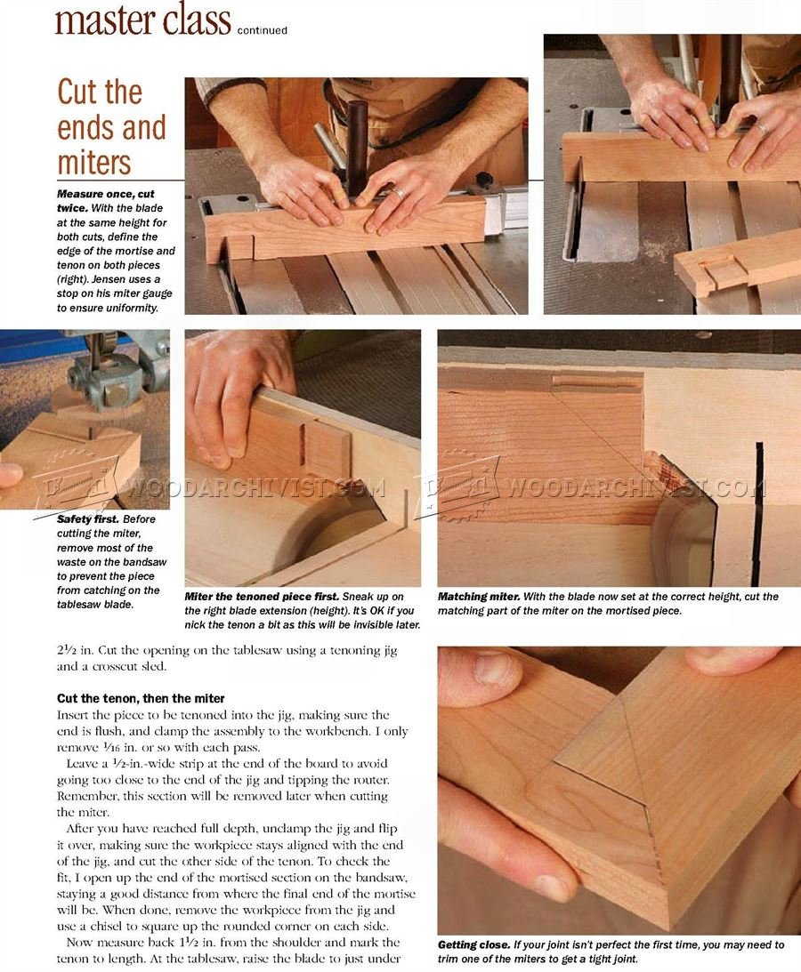 Pinned Miter Joint