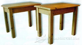 1003-Occasional Table Plans