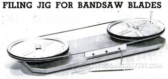 1010-Filing Jig for Band Saw Blades