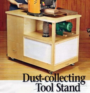 1014-Dust-Collecting Tool Stand Plans