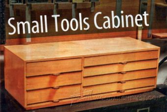 1030-Small Tools Cabinet Plans