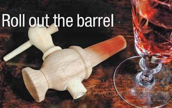 1041-Wooden Barrel Tap - Woodturning Projects
