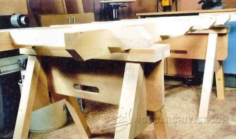 1043-Plywood Cutting Table Plans