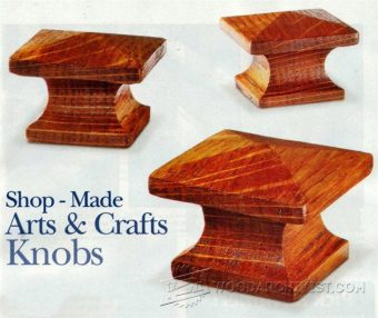 1045-Making Arts and Crafts Knobs