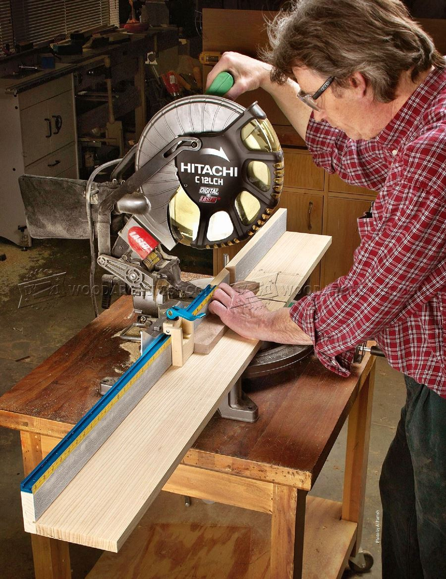 Miter Saw Fence Plans