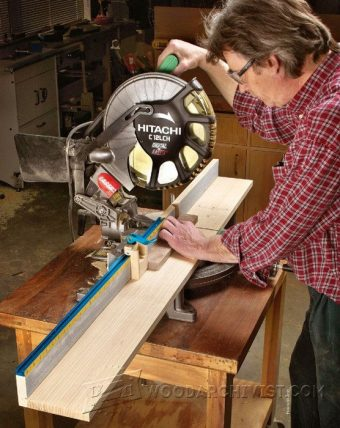 1051-Miter Saw Fence Plans