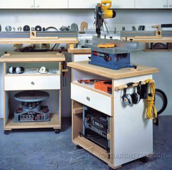 1066-Multifunction Power Tool Cabinet Plans
